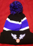 Womens/Girls CYGBA Pom Pom Beanie