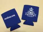 Dark Blue CWSL logo koozie