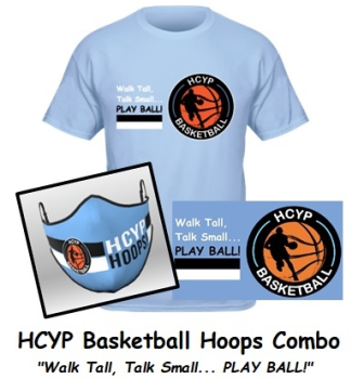 HCYP Basketball Hoops Package (Mask & T-Shirt)