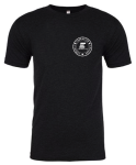 Custom ELEV8 Lacrosse Crew Neck Black T-Shirt