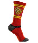 Sol Strideline Red Socks