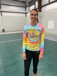 Mtn Peak Volleyball Tie-Day Long Sleeve