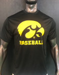 Tiger Hawk Iowa Baseball; Dry Fit
