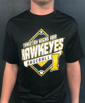Tradition Begins Here Hawkeyes Baseball; Dry Fit