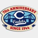 75th. Anniversary Bumper Magnet