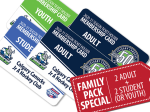 FAMILY PACK 2020-21 Season Tickets