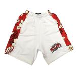 Alcatraz Outlaws Floral Shorts - White
