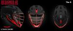 Custom DoCo Lax Cascade S Adult Helmet