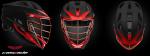 Custom DoCo Lax Cascade S Youth Helmet