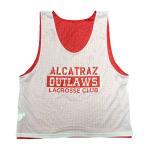 Alcatraz Outlaws Mesh Reversible White/Red