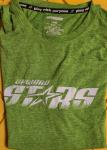 Upward Stars Green performance T (short sleeve)