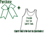 Cheer Bow & Spirit Tank