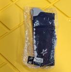 Blue Crew Socks (White Star) - Size Small