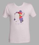 2018 POWLAX Men's Tri-Blend T-Shirt