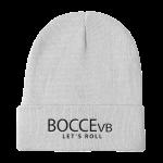 Bvb Knit Beanie White