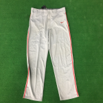 Gray Pants with Red Stripe