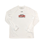 Outlaws Under Armour Long Sleeve- White