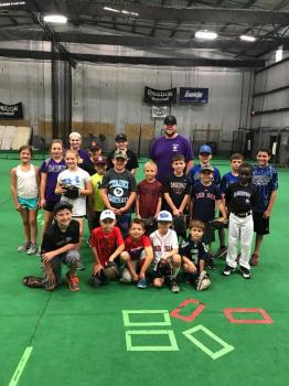 2018 Friday July 20 One Day Baseball Clinic