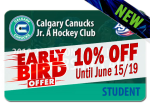 EARLY BIRD - STUDENT 2019-20 Season Ticket