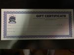 WNY School of Hockey Gift Card