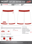 Game Shorts (Backup/Spare)
