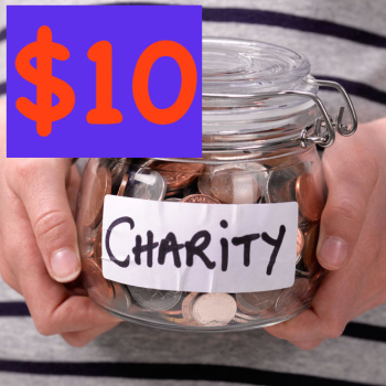 $10 Charity Donation