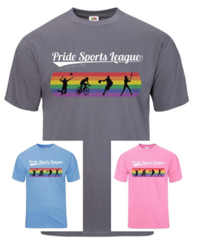 2018 Pride Sports League T-shirt