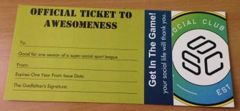 $25 League Gift Certificate