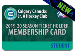 STUDENT 2019-20 Season Ticket