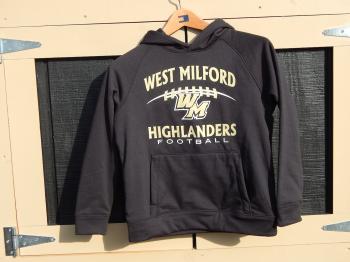 Youth Football Hooded Sweatshirt
