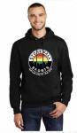 Black Stonewall Rainbow Hoodie