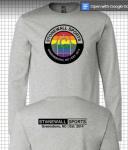 Long Sleeve Stonewall Greensboro Pride - Grey