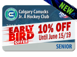 EARLY BIRD - SENIOR 2019-20 Season Ticket