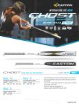 Easton Ghost Dual Stamp FP Softball -10
