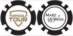 Topgolf Tour Make-A-Wish Poker Chip Ballmark