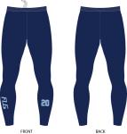 FLG Embroidered Raditor Leggings