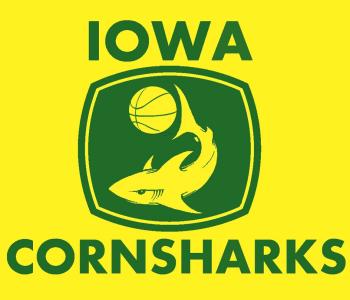 Iowa CornShark Yellow Tee - M