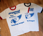 Retro Playground Sports Bowling Ringer Tee