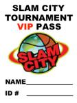 2017 Tournament VIP Pass - Individual Pass