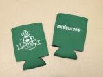 Green CWSL logo koozie