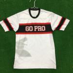 White Go Pro Baseball Jersey