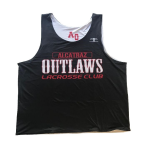 Outlaws Practice Pinnie - Black/White