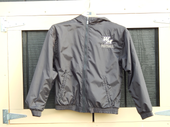 Football Fleece-Lined, Hooded Jacket