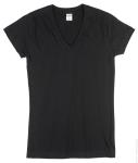 Ladies V Neck Tee Shirt