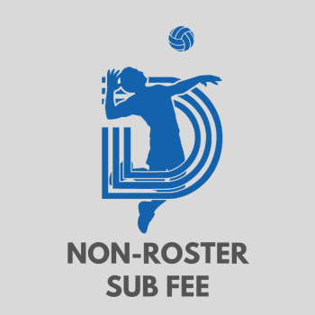 League Play Non-Roster Sub Fee
