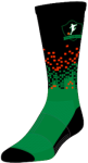 Circuit Custom Sock - XLG - Urban Design (BLACK)
