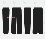 SIDELINE SWEATPANTS (Shipping Included in Price)