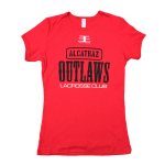 Alcatraz Outlaws Shirt - Women's