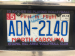 CHAVC License Plate Holder