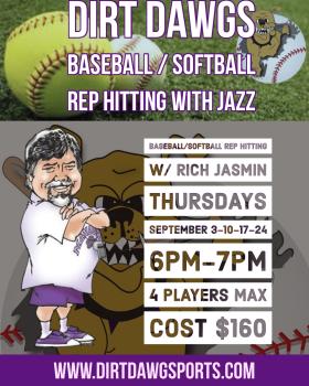 September Thursdays Rep Hitting w/Jazz